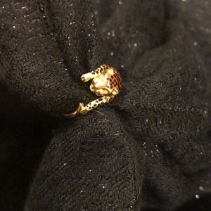 14k New York Gold Designs Panther Ring